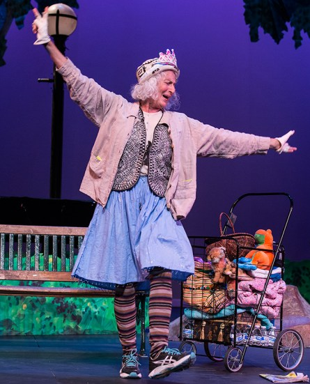 """Forest Finn as Minnie Rose - """"Center for Successful Aging's """"Senior (musical) Moments"""" 6/3/156 Marjorie Luke Theatre"""