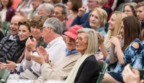 Ojai Music Festival - appreciative and happy audience members 6/12/16 Libbey Bowl
