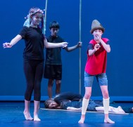 There goes that nose - Boxtales Theatre Co. Summer Camp 7/21/16 Marjorie Luke Theatre