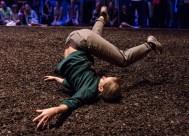 Vim Vigor Dance's Emma Whitely gets intimate with the mulch 9/1/16 Lobero Theatre