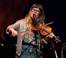 Sara Watkins@ Sings Like Hell 9/10/16 Lobero Theatre