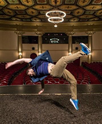 Martin Durov puts a twist on jumping 9/13/16 Lobero Theatre