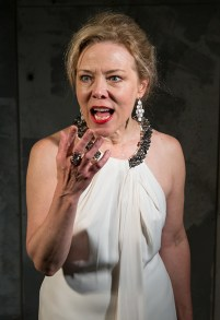 Kathryn Meisle as Lady Macbeth 9/18/16 New Vic Theatre