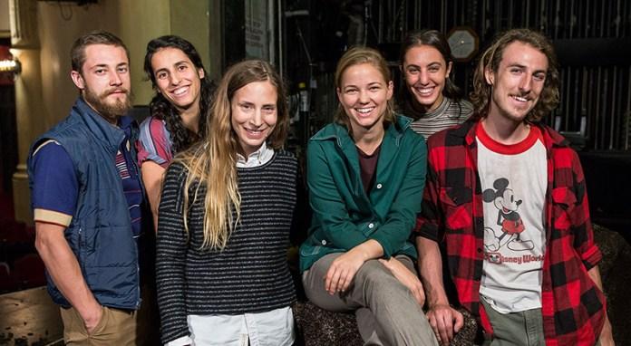 Martin Durov, Laja Field, Shannon Gillen, Emma Whitely, Rebecca Diab and Jason Cianciulli 9/13/16 Lobero Theatre