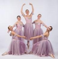 "Sadie Beebe, Chloe Murphy, Emily Stone, Sonya Kaestner, Ella Onishuk - Santa Barbara Festival Ballet's ""Nutcracker"" 10/16/16"