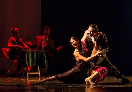 "Leila Drake Fossek & Jack Stewart in ""An American Tango"" - State Street Ballet 10/22/16 Granada Theatre"