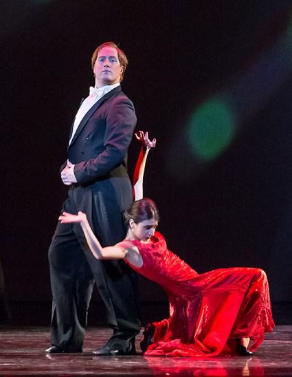 "John Piel & Lilit Hogtanian in""An American Tango"" - State Street Ballet 10/22/16 Granada Theatre"