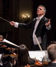 Nir Kabaretti conducts the Santa Barbara Symphony 10/15/16 Granada Theatre