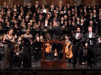 Santa Barbara Symphony, Jeanine De Bique - soprano, Nina Yoshida Nelson - mezzo, Benjamin Brecher - tenor and DeAndre