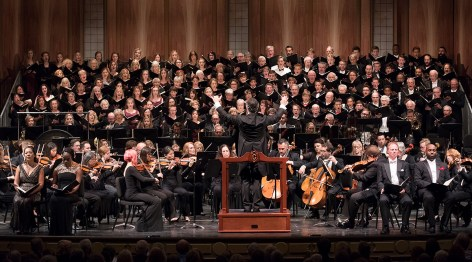 "Santa Barbara Symphony, Santa Barbara Choral Society, Quire of Voices, UCSB & San Marcos High performing ""Ode to Joy"" 10/15/16/ Granada Theatre"