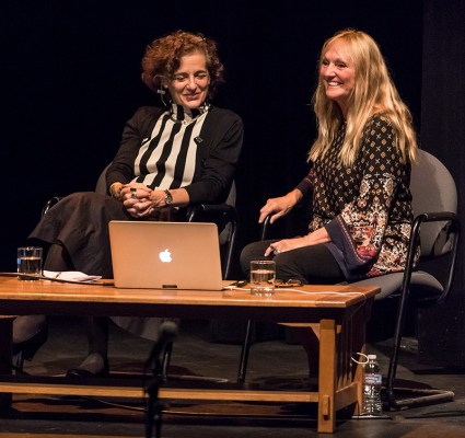 Françoise Mouly and Anita Kunz - UCSB Arts & Lectures 10/17/16 Campbell Hall