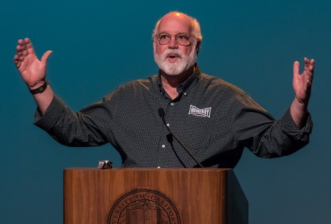 Homeboy Industries is very big now - UCSB Arts & Lectures 10/18/16 Campbell Hall