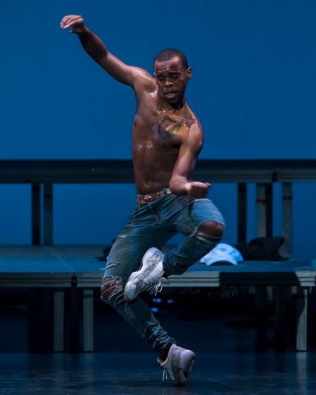 Lil Buck's Swan - UCSB Arts & Lectures 10/25/16 Granada Theatre