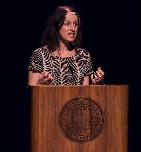 Larissa MacFarquhar - UCSB Arts & lectures 10/5/16 Campbell Hall
