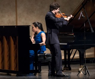 Joyce Yang & Augustin Hadelich - CAMA Santa Barbara 11/22/16 The Lobero Theatre