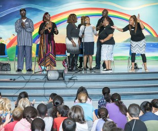 The Jones Family Singers @ Isla Vista Elementary School - UCSB Arts & Lectures 10/27/16 Campbell Hall