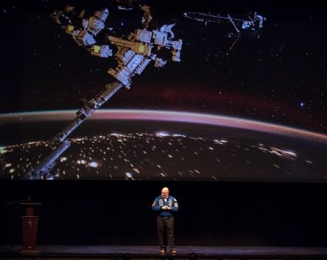 Capt. Scott Kelly - UCSB arts & Lectures 11/14/16 Granada Theatre