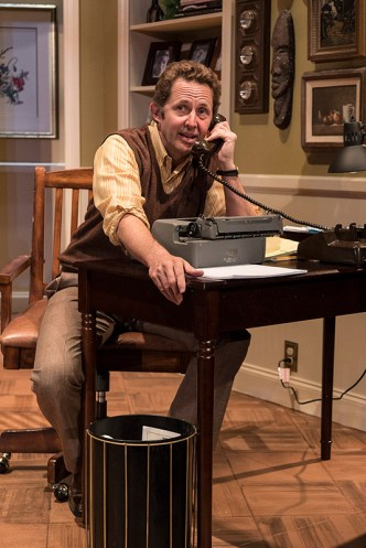 """Todd Weeks plays George Schneider - Ensemble Theatre Co. production of Neil Simon's """"Chapter Two"""" 11/30/16 New Vic Theatre"""