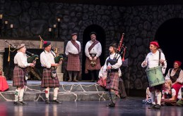 Pipe and drum band - Santa Barbara Revels Winter Solstice Celebration 12/16/16 The Lobero Theatre