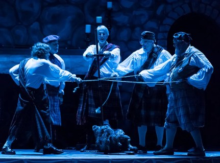 Scottish ritual - Santa Barbara Revels Winter Solstice Celebration 12/16/16 The Lobero Theatre