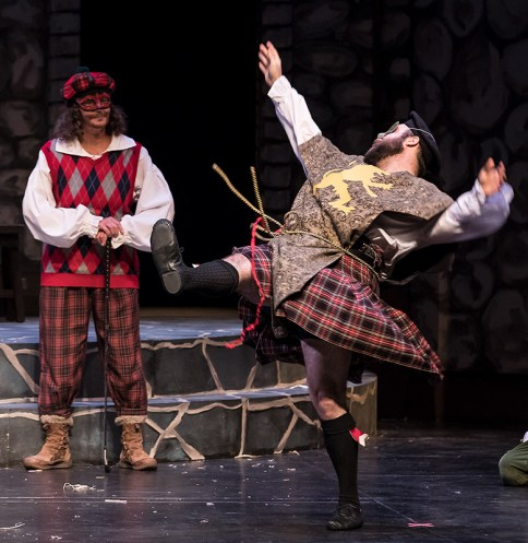 Wearing the kilt makes you feel so free - Santa Barbara Revels Winter Solstice Celebration 12/16/16 The Lobero Theatre