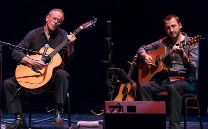 """Will Ackerman & Todd Boston - 30th Anniversary of Windham Hill's """"A Winter's Solstice"""" 12/19/16 The Lobero Theatre"""