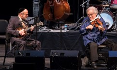 "Andy Statman and Itzhak Perlman - ""In the Fiddler's House"" 20th Anniversary concert- UCSB Arts & Lectures 1/23/17 The GranadaTheatre"