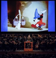 "Santa Barbara Symphony performing ""Fantasia"" - ""The Sourcerer's Apprentice"" 1/29/127 the Granada Theatre"