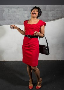 """Karole Foreman is Bess in Ensemble Theatre Company's """"Porgy and Bess"""" 1/29/17 the New Vic Theatre"""