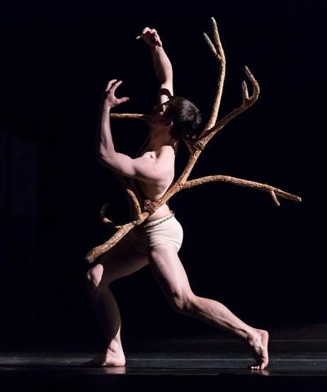 "Thomas Fant in Edgar Zendejas's new ""Rite of Spring"" - State Street ballet 2/18/17 The Granada Theatre"