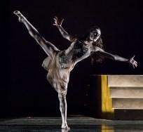 "Meredith Harrill in Edgar Zendejas's new ""Rite of Spring"" - State Street ballet 2/18/17 The Granada Theatre"