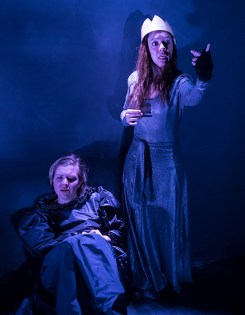"Paige Tautz and Marie Ponce - Lit Moon Theatre Company's ""Richard III"" 3/7/17 Westmont College Black Box Theater"