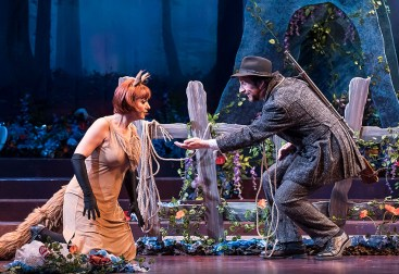 "Isabel Bayrakdarian and David Kravitz - Opera Santa Barbara's ""The Cunning Little Vixen"" 3/1/17 The Granada Theatre"