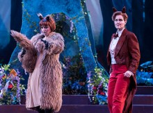 "Isabel Bayrakdarian and Lauren McNeese - Opera Santa Barbara's ""The Cunning Little Vixen"" 3/1/17 The Granada Theatre"