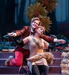 "Lauren McNeese and Isabel Bayrakdarian - Opera Santa Barbara's ""The Cunning Little Vixen"" 3/1/17 The Granada Theatre"