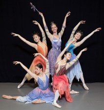 """Fairy Godmother and Fairy's - State \Street Ballet's """"Cinderella 3/23/17 Gail Towbes Center for Dance"""