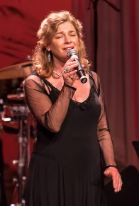 """Singer Kimberly Ford performing at the Center for Successful Aging's """"With A Song In My Heart"""" 4/1/17 The Marjorie Luke Theatre"""