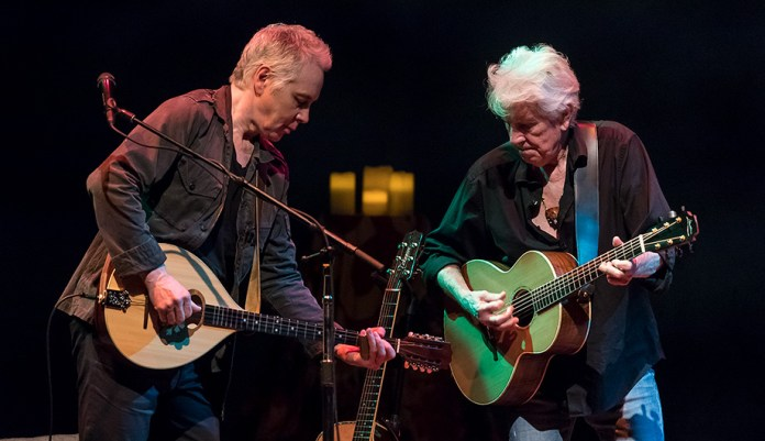 "Shane Fontayne and Graham Nash at the Lobero Theatre ""This Path Tonight"" 4/5/17"