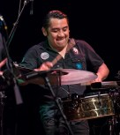 Timbalero George Ortiz in full swing - The Pancho Sanchez Latin Jazz Band - Lobero Live! 4/21/17 The Lobero Theatre