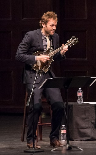 Chris Thile - Bach Trios - UCSB Arts & Lectures 5/2/17 The Granada Theatre