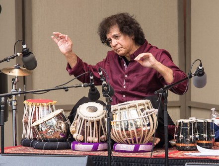 """""""Confluence"""" with Zakir Hussein at the Ojai Music Festival 6/11/17"""