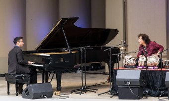 """Confluence"" with Vijay Iyer and Zakir Hussein at the Ojai Music Festival 6/11/17"