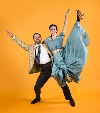 """Anna & Henry are getting very good! Alan Knee's """"Syncopation"""" - Ensemble Theatre Company 5/28/17 The New Vic Theatre"""
