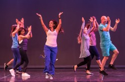 "Santa Barbara Dance Institute ""Event-of-the-Year"" Zumba with Josette Tkacik 5/21/17 The Marjorie Luke Theatre"
