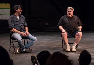 Young Actors Conservatory - Education Director Marcus Giamatti interviews actor George Wendt - Ensemble Theatre Company 7/20/17 The New Vic Theatre