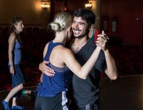 "Daniel del Valle Escobar and Thryn SaxonNicole and Estaban - ""No Exit/In Love I Broke Beyond"" 8/15/17 The Lobero Theatre"