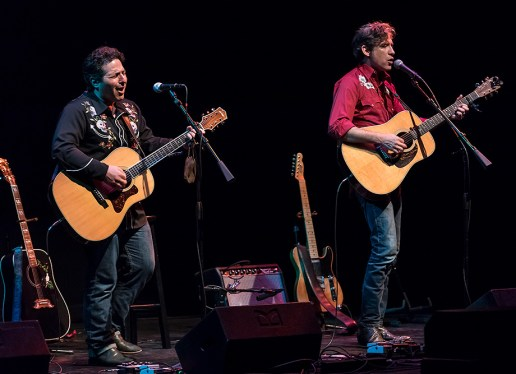 Adam Traum and Colin Gilmore - Sings Like Hell 7/29/17 The Lobero Theatre