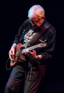 "Bill Kirchen - ""titan of the telecaster"" - performing at Sings Like Hell 7/29/17 The Lobero Theatre"