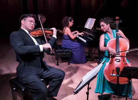 Paul Huang, Inna Faliks and Ani Aznavoorian - Camerata Pacifica 9/15/17 Hahn Hall