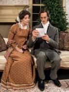 Paul Culos (Arthur) & Donnla Hughes (Mary).